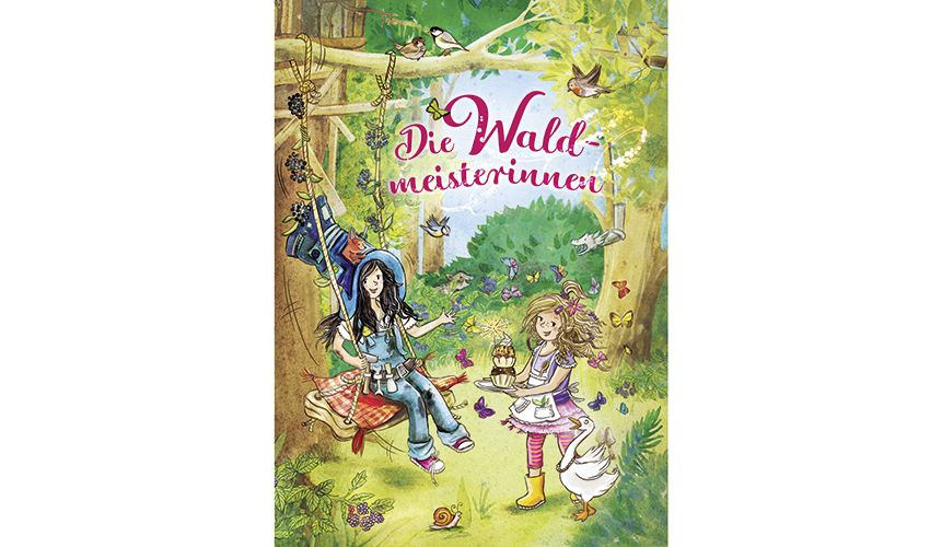 Kinderbuch Die Waldmeisterinnen - Illustration Petra Eimer (Cover)