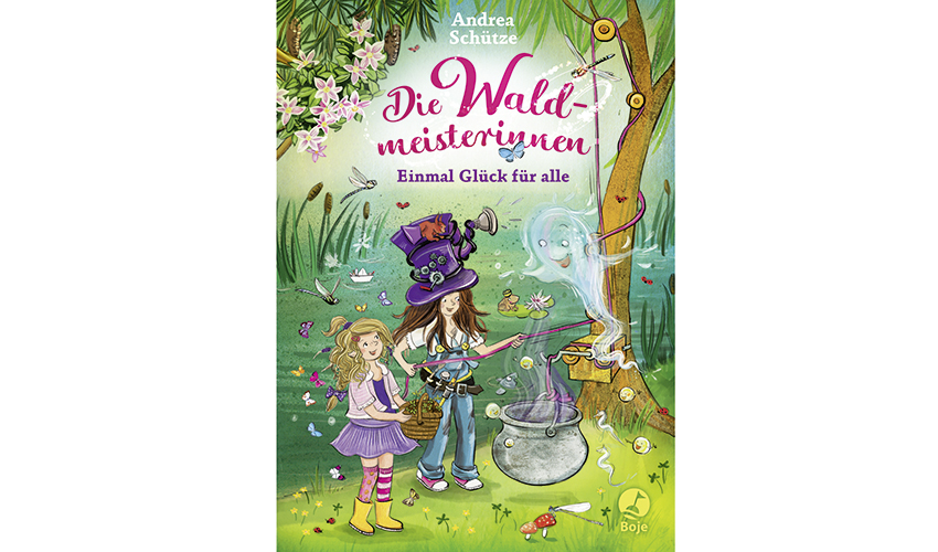 Die Waldmeisterinnen 2 - Einmal Glück für alle (Cover)
